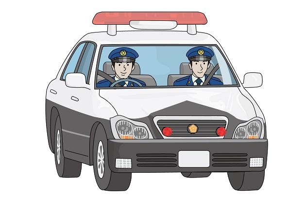 新人警察官 パトロールに出発