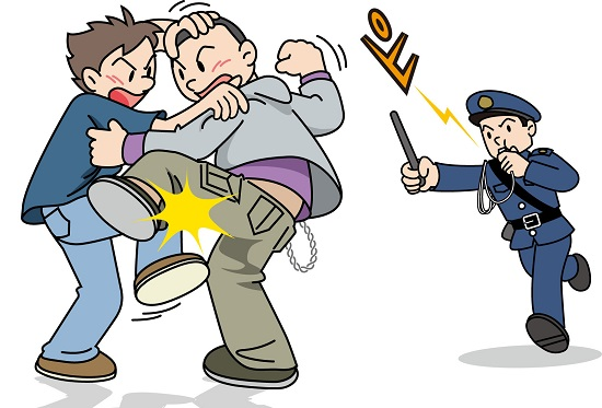 警察官の仕事で大変だったこと 乱闘