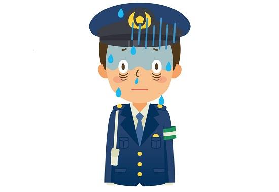 実際にあった若手警察官の不祥事
